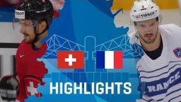 Switzerland - France | Highlights | #IIHFWorlds 2017
